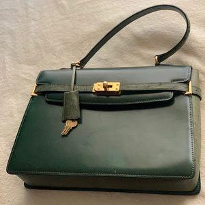 Vintage Ostrich Handbag